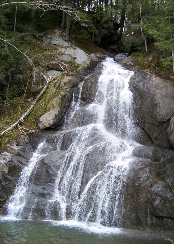 Moss Glen Falls in Green Mountain National Forest (VT)