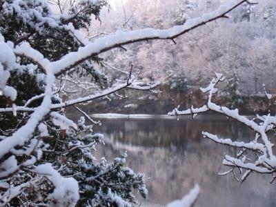 Winter Portal - Mohawk River